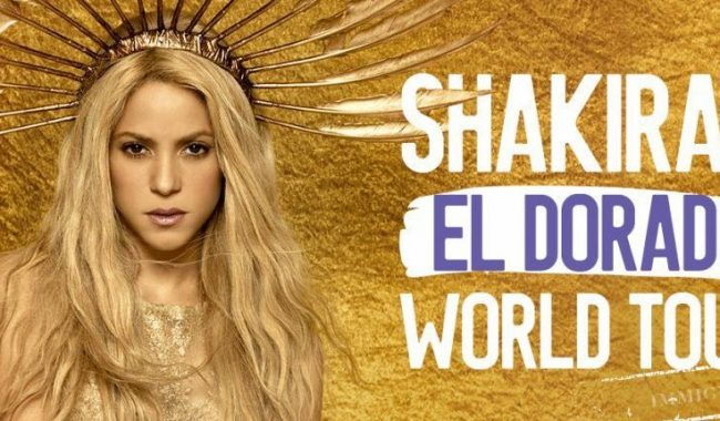 Image result for shakira el dorado world tour 2018