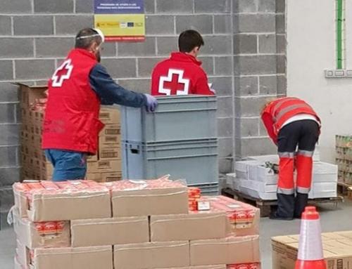 Cruz Roja cierra su almacén de reparto de alimentos en BEC
