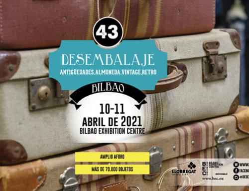 Vuelve Desembalaje para celebrar su 43 edición en Bilbao Exhibition Centre