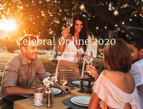 Celebra! Online, el salón de bodas y todo tipo de celebraciones, cierra su excepcional edición